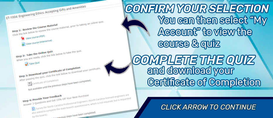 Download engineering continuing education certificate of completion